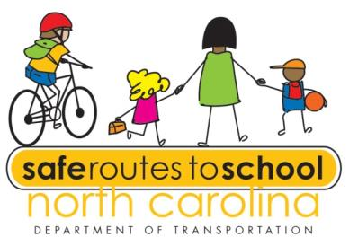 NCDOT Safe Routes to School Logo