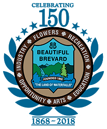 celebrating 150 years Beautiful brevard Flowers recreation arts opportunity and industry