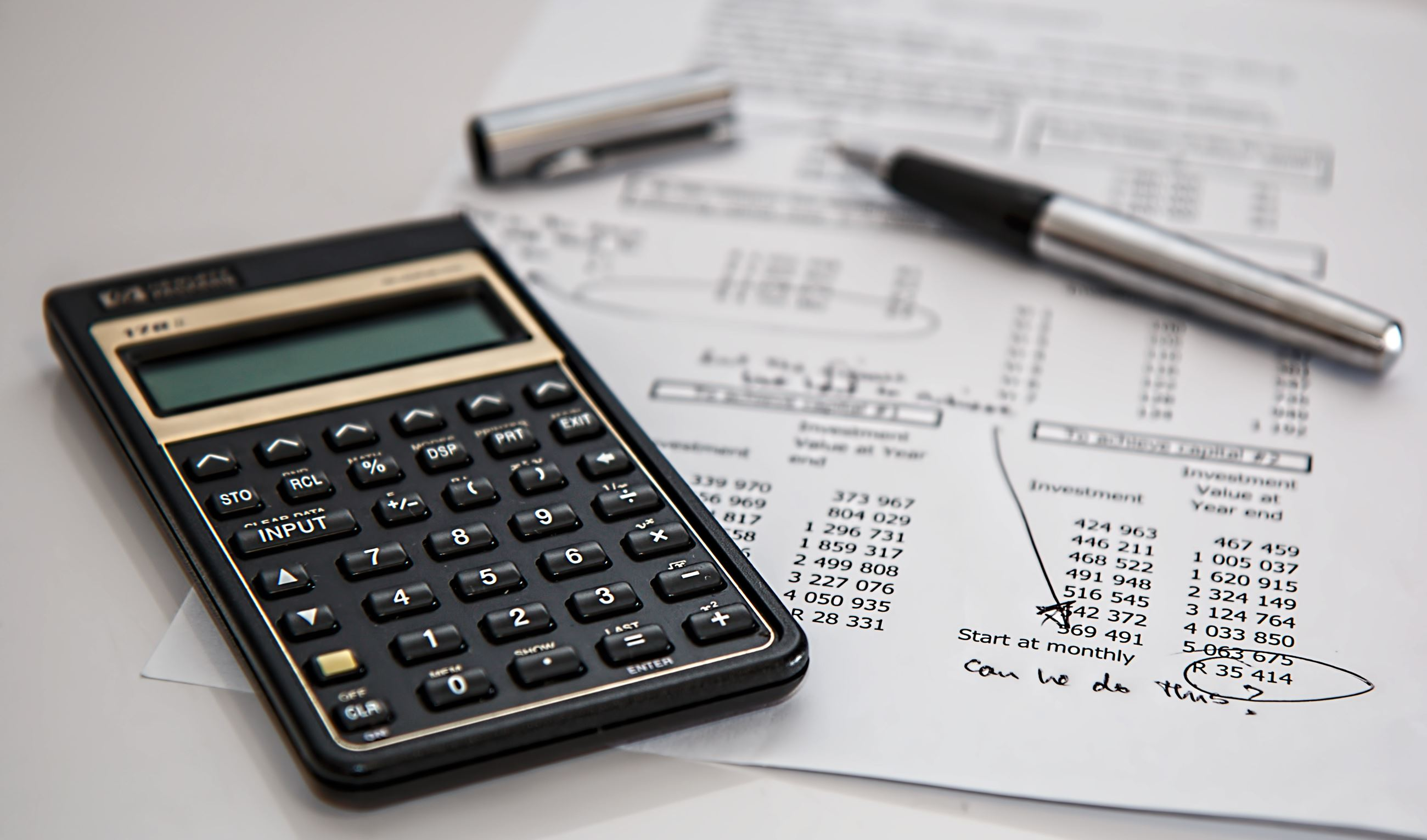 Generic Accounting Stock Photo