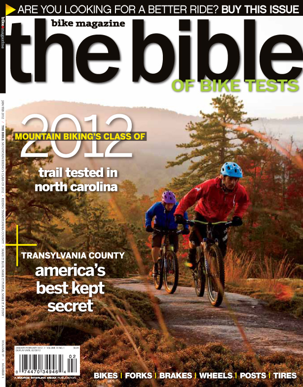 Bible of Bike Tests Cover